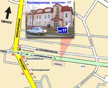 How to find our office. Click to enlarge